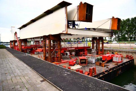 brugdelen-theemswegtrace, bron: Havenbedrijf Rotterdam