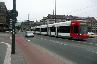 Een tram in Bremen, bron: Bremen Tram/FlickR
