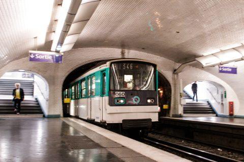 Een metro van vervoerder Parisian Transports (RATP), foto: ANP