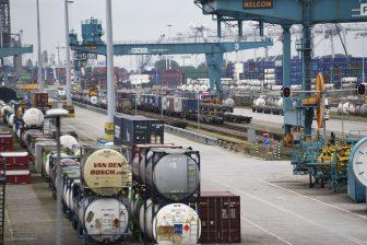 Rail Service Center Rotterdam, foto: Hollandse Hoogte