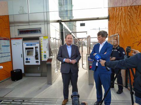 RET-directeur Maurice Unck en wethouder Arjan van Gils