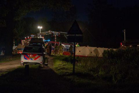 Ongeluk op spoorwegovergang Winterswijk, bron: GinoPress