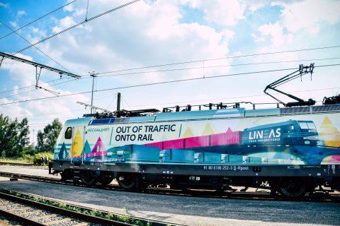 De Modal Shift Locomotief van Lineas