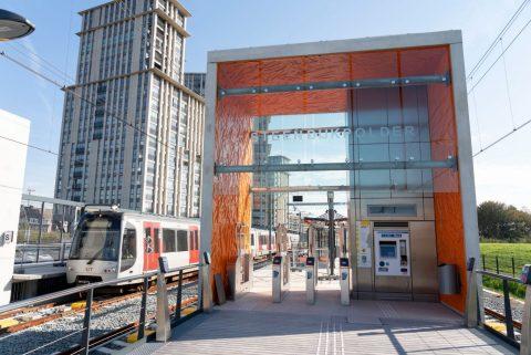 Station Steendijkpolder op de Hoekse Lijn, bron: RET