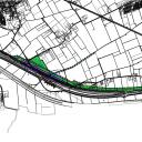 Plankaart Railterminal Gelderland, bron: Provincie Gelderland