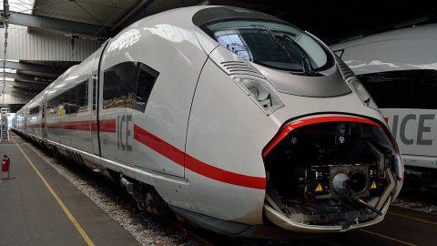 Siemens Velaro (Class 407) high-speed train, source: Wikimedia Commons