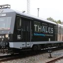 Thales Lucy-train, bron: Vodafone