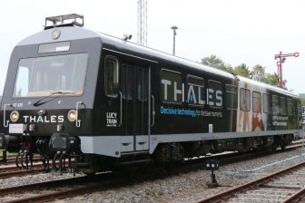 Thales Lucy-train, bron: Vodafone