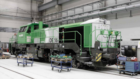 Vossloh DE18-locomotief