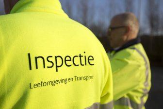 Een inspecteur van de Inspectie Leefomgeving en Transport, bron: ILT