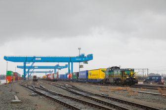 Spoorgoederenvervoerder Lineas in Gent, bron: Lineas