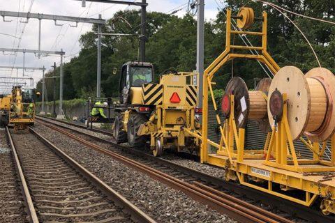 Spoorwerk Zevenaar Dura Vermeer Railinfra