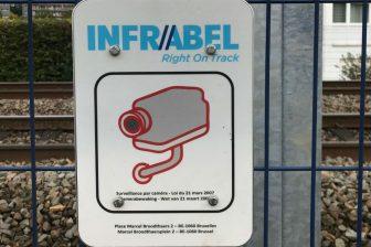 Jambes intelligente afsluiting voor spoorlopers, foto: Infrabel