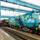 Noah's train, bron: Havenbedrijf Rotterdam