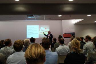 Hans van Leeuwen, senior consultant DGMR benadrukte tijdens zijn presentatie bij Railforum het belang van goed onderhoud