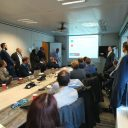 De presentatie van Alstom tijdens de Intelligent Rail Summit 2019