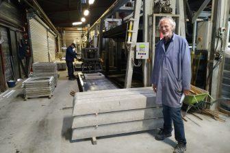 Kwaliteitsmanager Teus de Ridder van betonfabriek Nigtevecht