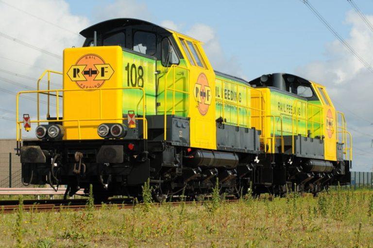 RRF-locomotieven op de Maasvlakte