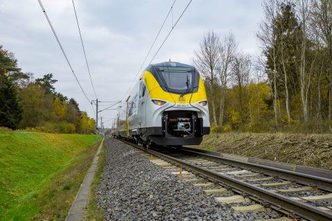 Een Mireo-trein van Siemens