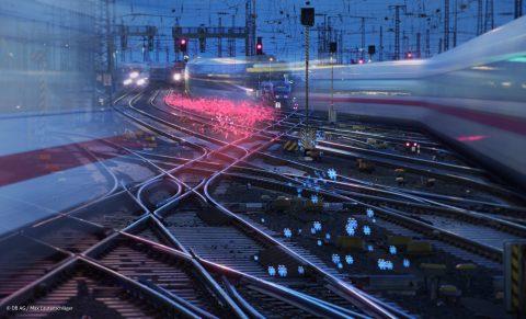 Glasvezelnetwerk Deutsche Bahn