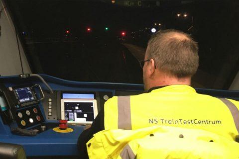 NS voerde een test met ATO uit op de Hanzelijn, foto: NS