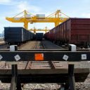 Khorgos Dry Port China spoor