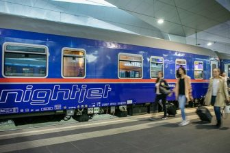 Nightjet Wenen-Brussel