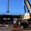 Spoorbrug in het Duitse Panketal