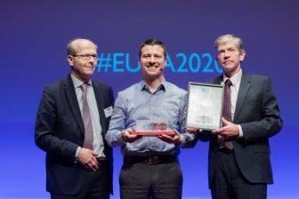 Geert Pauwels, Libor Lochman, Philippe Citroën European Railway Award 2020
