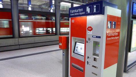 Kaartenautomaat DB