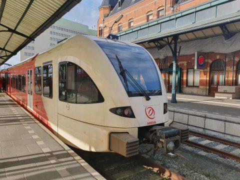 ATO-testtrein Groningen