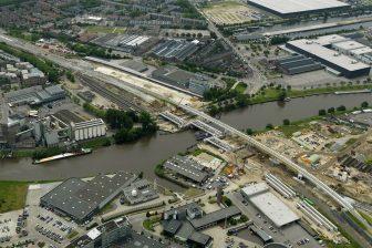 Spoorbrug Den Bosch, bron: Heijmans