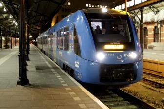 Coradia iLint-waterstoftrein Alstom