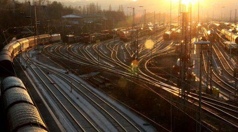 Het spoor in Duitsland, bron: Deutsche Bahn