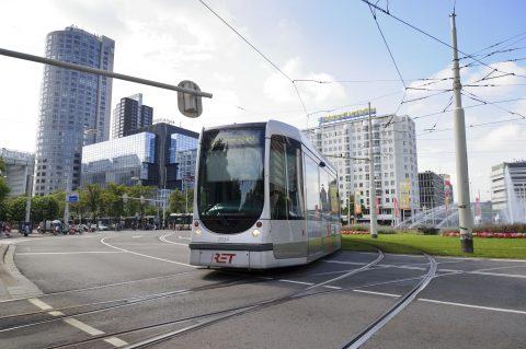 Tram Hofplein Rotterdam, foto: RET