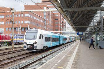 De WINK-trein van Arriva, foto: De Vries Media