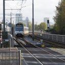 De Randstad Rail van HTM en RET rijdt van Rotterdam via Berkel en Pijnacker naar Den Haag, foto: Hollandse Hoogte