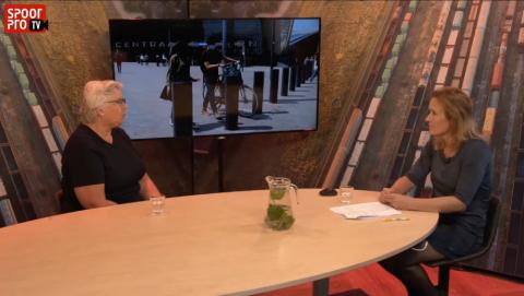SpoorProTV met Corina de Jongh van Railforum