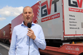 Aryan van Zoest, business unit manager intermodal bij GVT
