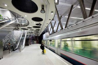 Metro Wilhelminaplein Rotterdam, foto: E. Fecken