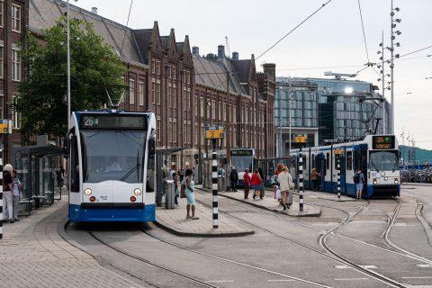 Tramlijn 26 van de GVB: bron: GVB Verbindt