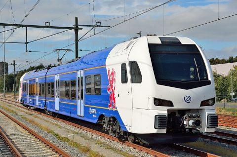 Een Arrivatrein in Heerlen, foto: Rene Hameleers/Arriva