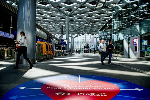 Station Den Haag Holland Spoor, foto: ANP