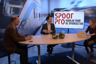 Joseph Mager van NS en Michel van den Braak deelden hun kennis tijdens het SpoorPro Webinar over digitale weerbaarheid