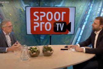 Uitzending SpoorProTV 1 juli