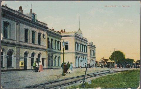 Station Alkmaar rond 1870