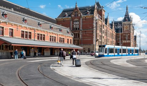 Station Amsterdam Centraal, foto: ANP