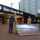 Opening station Den Haag Holland Spoor