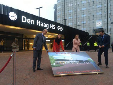Opening station Den Haag Holland Spoor