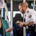Beveiligers / BOA's in de metro, foto: ANP